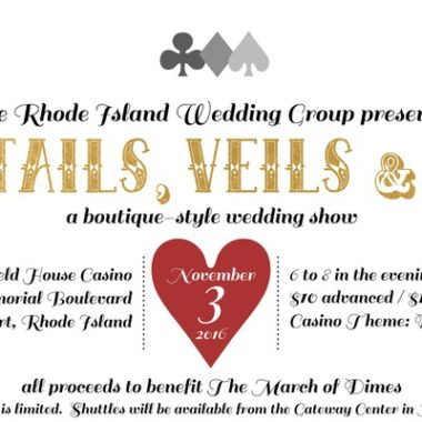Cocktails, Veils and Tails presented by the RI Wedding Group