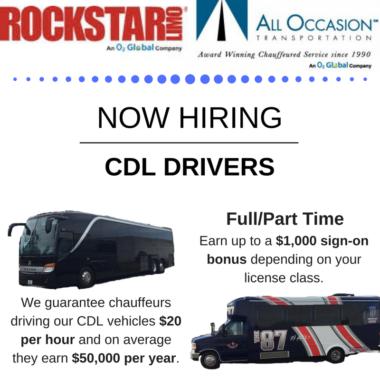 We're hiring CDL Drivers!