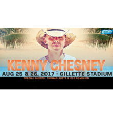 Kenny Chesney at Gillette Stadium