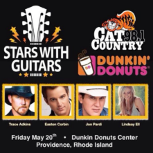 Stars With Guitars presented by Cat Country 98.1 and Dunkin' Donuts