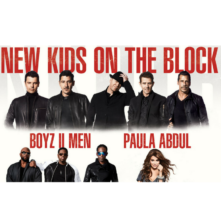 New Kids On The Block with Paula Abdul and Boys II Men