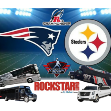 AFC Championship Patriots vs. Steelers at Gillette Stadium