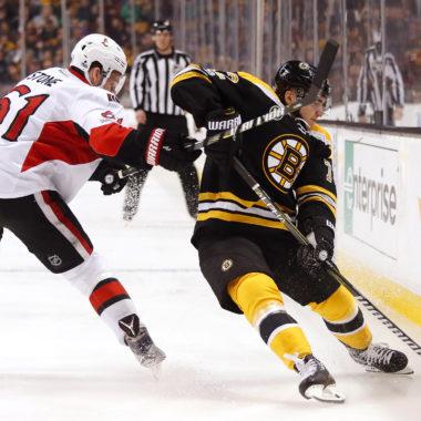 Ottawa Senators at Boston Bruins