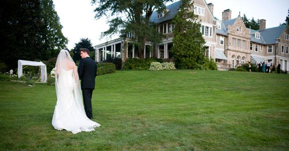 Wedding Wednesday featuring Blithewold