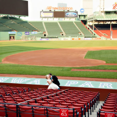 Wedding Wednesday featuring Fenway Park
