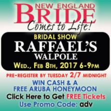 New England Bride Comes To Life Show