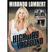 """Miranda Lambert """"Highway Vagabond Tour"""""""