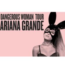 Ariana Grande at The TD Garden