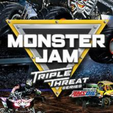 Monster Jam Triple Threat ft. Amsoil Series