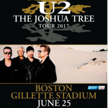 "U2 ""The Joshua Tree Tour"" at Gillette Stadium"