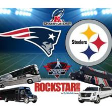 AFC Championship Patriots vs. Steelers at Gillette Stadium