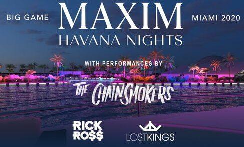 2020 Maxim Super Bowl Party Experience in Miami