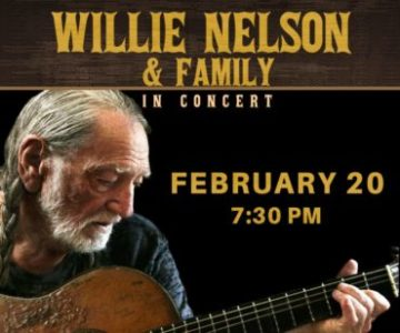 Willie Nelson & Family at Hertz Arena