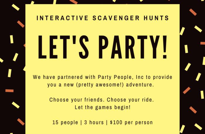 Interactive Scavenger Hunts